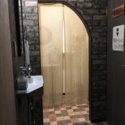 女性用お手洗い入口幅:73cm