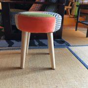 子供用の椅子。高さ37cm。