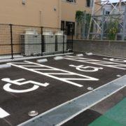 障がい者用駐車場が3台