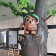 キニワくんは木庭館カフェの守り神だそうですよ