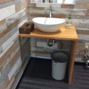 トイレ内の洗面スペースです。